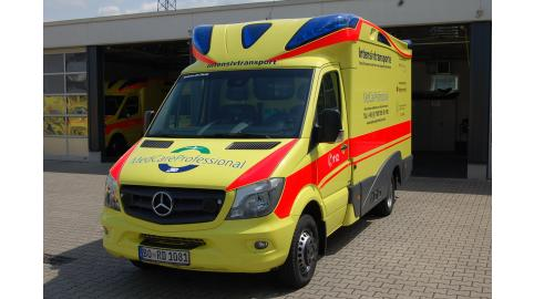 Intensivtransportwagen Mercedes Sprinter 519
