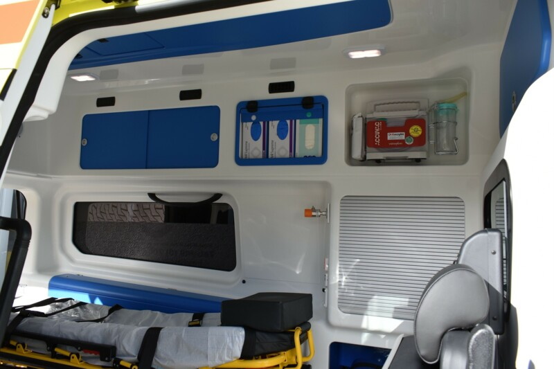 Medical equipment of MCP vehicles